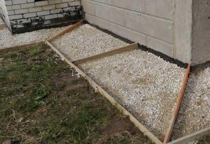 Состав бетонной смеси для отмостка бетон строй технология