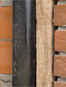 cavity wall insulation rock wool