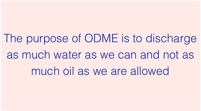 Purpose of ODME